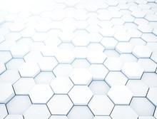 White Hexagons, Illustration