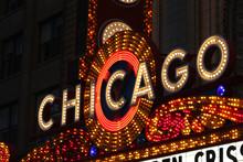 USA - Chicago Bright Neon