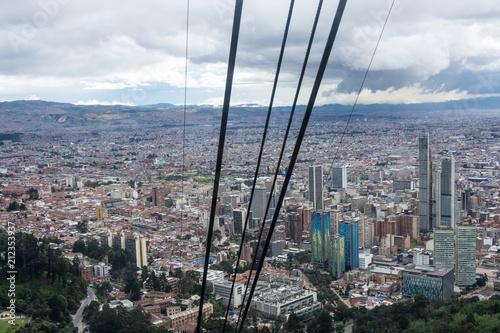 Keuken foto achterwand Zuid-Amerika land Téléphérique de Bogota, Colombie