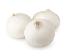 Onion, Isolated On White Backg...