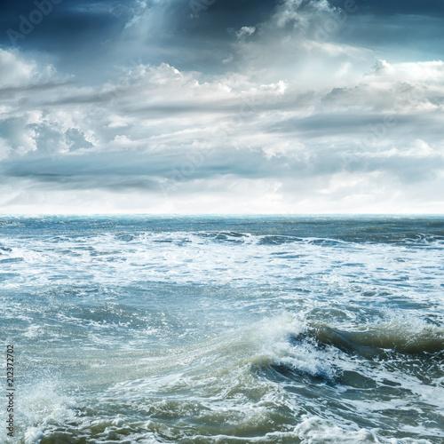 Foto  Tropical sky and sea
