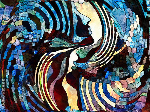 Fotografie, Obraz  Virtual Color Division