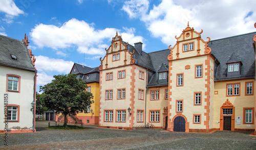 Photo Stands Burg Friedberg Hessen, Herrenhaus