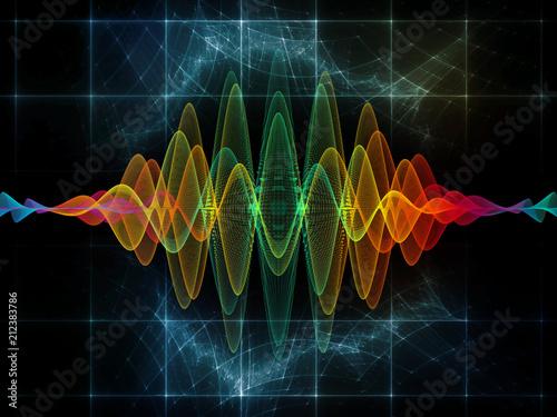Magic of Oscillation Canvas-taulu