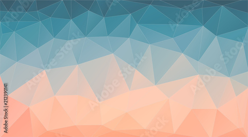 Retro color Abstract triangle background