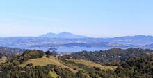 Green Rolling Hills Of Marin C...