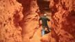 man in cavern west