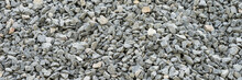 Gray Gravel Stones For The Construction Industry