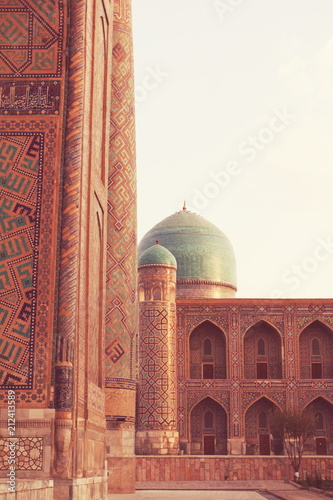 Deurstickers Asia land Bukhara