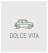 Fiat 500 Et Dolce Vita, Logo, ...