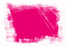 Pink And White Brush Painted Background