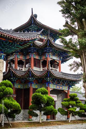Foto op Plexiglas Bedehuis Temple china