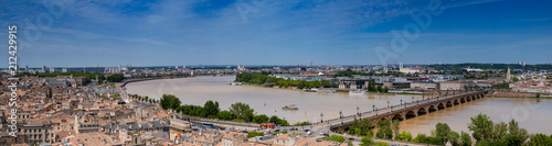 Fotografie, Obraz  Bordeaux panoramique