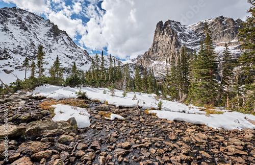 Spoed Foto op Canvas Verenigde Staten Lake Helene, Rocky Mountains, Colorado, USA.