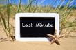 canvas print picture - Last Minute