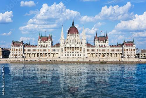 Fotografie, Obraz  Parliament in Budapest, Hungary