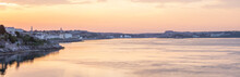 Plymouth Sound Sunrise Panoramic