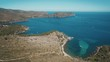 Aerial, View On Golf De Roses, Spain - graded