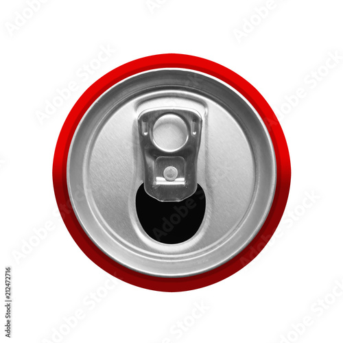 Cuadros en Lienzo top view of drink can