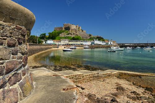 Fotografie, Obraz  Mont Orguiel Castle,Gorey, Jersey, U