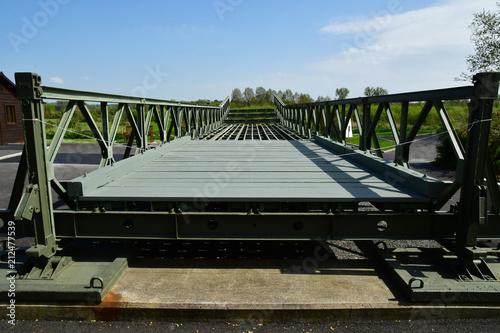 Photo  Benouville; France - april 22 2018 : Pegasus bridge memorial