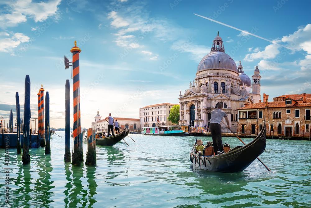 Fototapety, obrazy: Gand Canal Venice