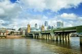 Fototapeta Londyn - miasto londyn