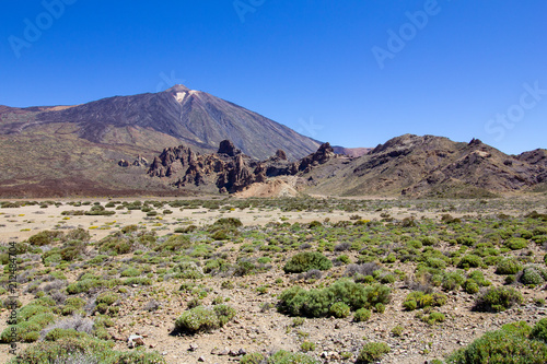 Poster Beige El Teide - Tenerife