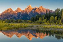 Grant Teton Mountain Range