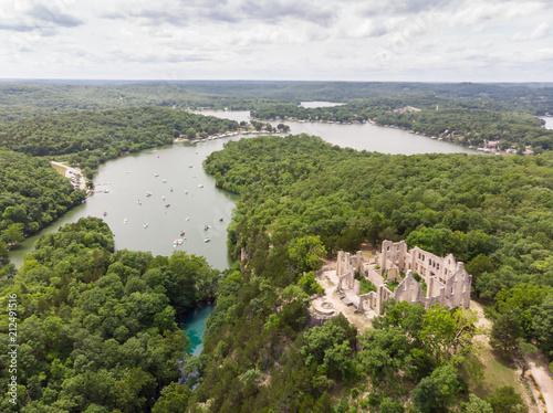 Photo  Lake of the Ozarks Castle Ruins