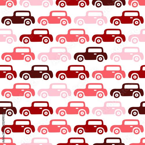 doodle-samochodow-w-tle-bezszwowy-chlopiec-wzor-w-wektorze-tekstura-tapety-wypelnienia-tlo-strony-internetowej