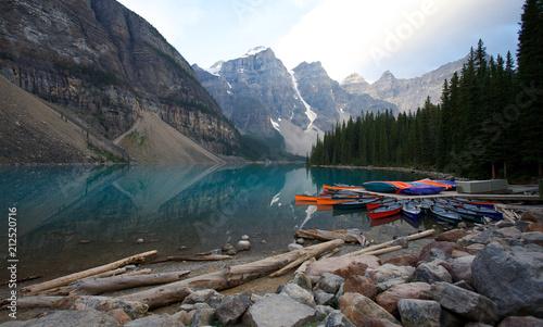 Fotobehang Canada Moraine Lake (Banff)