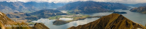 Photo  Panorama of Roys Peak - Wanaka