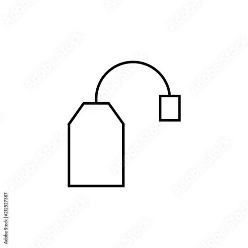 Tea Bag Icon Element Of Kitchen Appliances Icon For Mobile Concept