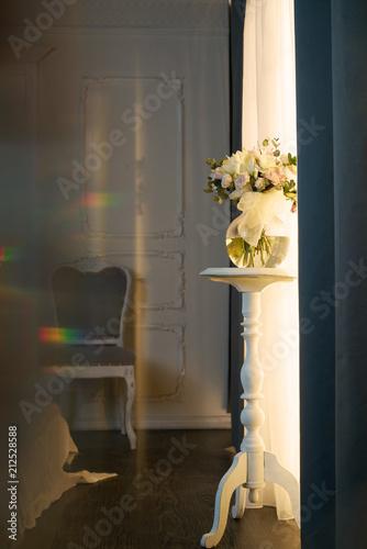 Deurstickers womenART Interior with flowers