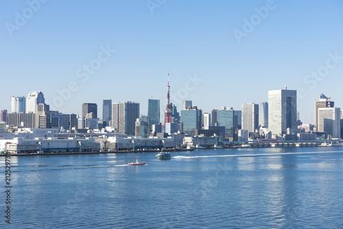 Plakat Słoneczny obszar Tokio