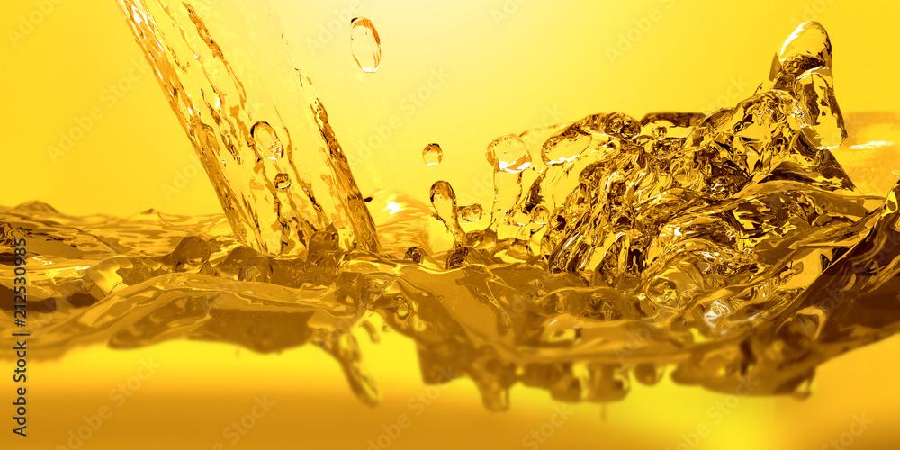 Fototapety, obrazy: Pouring oil car