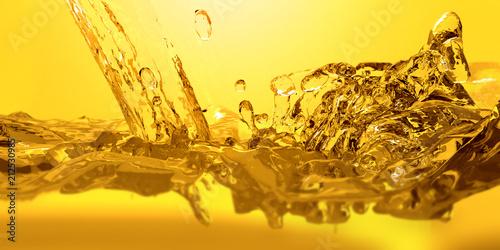Cuadros en Lienzo  Pouring oil car