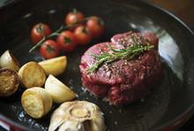 Cooking A Fillet Steak Food Photography Recipe Idea