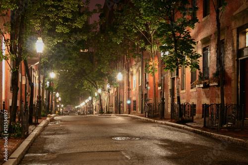 Canvas Prints Narrow alley Boston