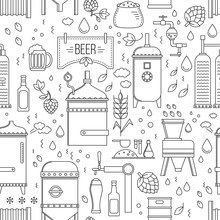 Beer Production Pattern Seamle...