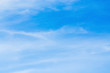 Summer beautiful Blue Sky Background Template With Some Space for Input Text Message.