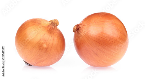Photo onion isolated on white background