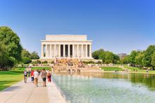 Washington, USA, Lincoln Memorial, U.S. National Memorial.