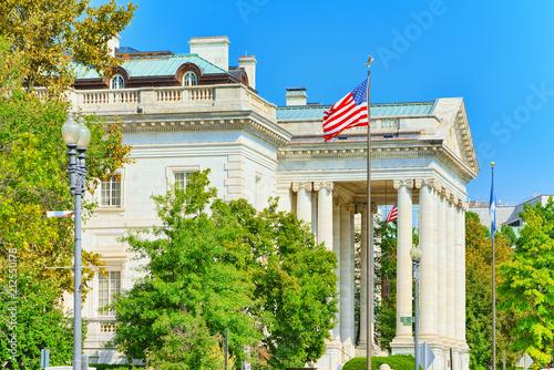 Fotografiet Washington, USA, urban cityscape of the city.Constitution Hall.