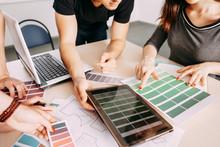 Design, Teamwork, Brainstormin...