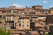 View of cityscape of Siena, Italy.