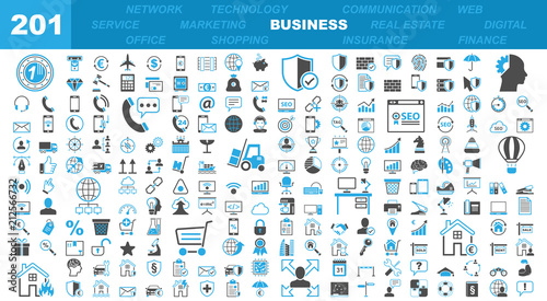 Fotografía  Business & Office Icons - 201 Iconset