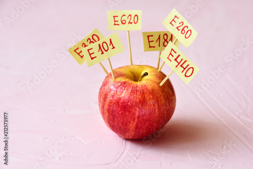 Apple Fruit with natural E additives Fototapeta