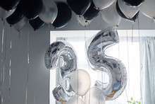 Composition Of Balloons For The 35 Years